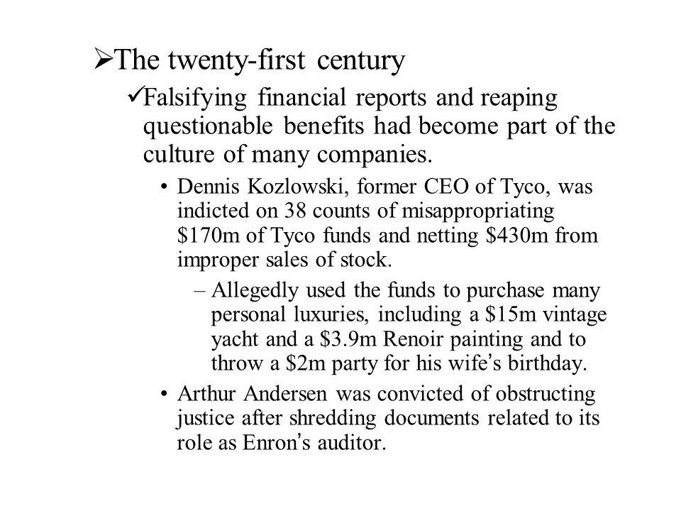 The twenty-first century