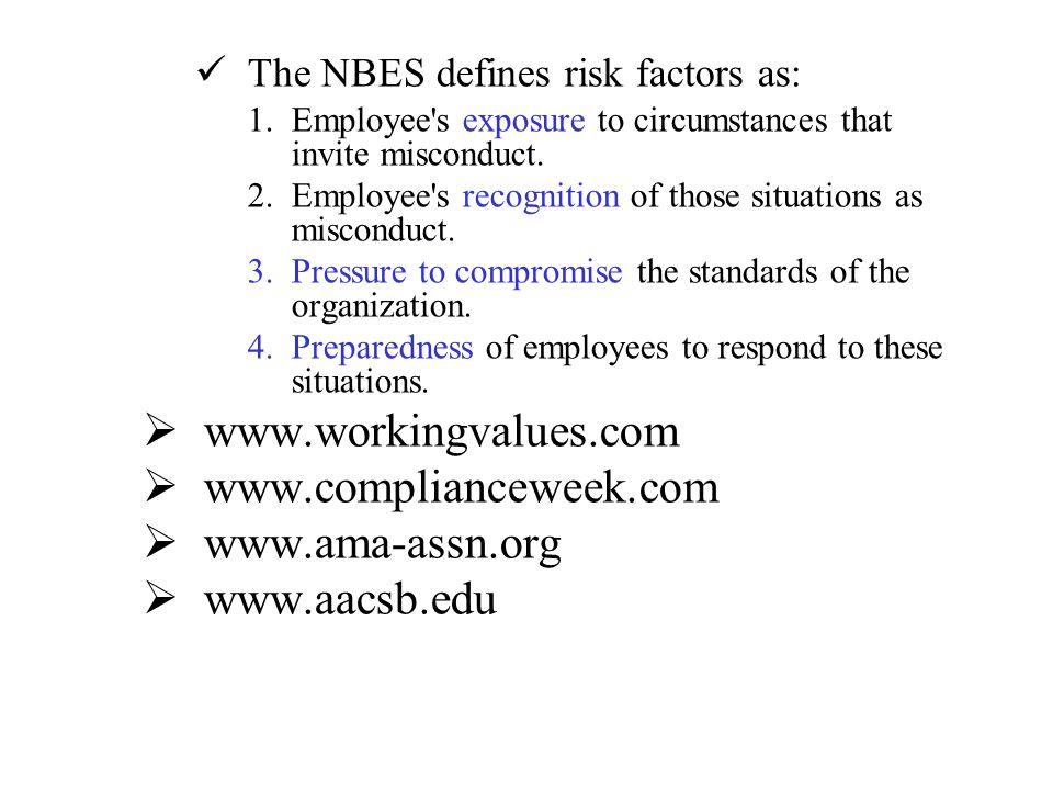 www.workingvalues.com www.complianceweek.com www.ama-assn.org
