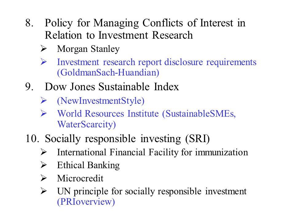 Dow Jones Sustainable Index