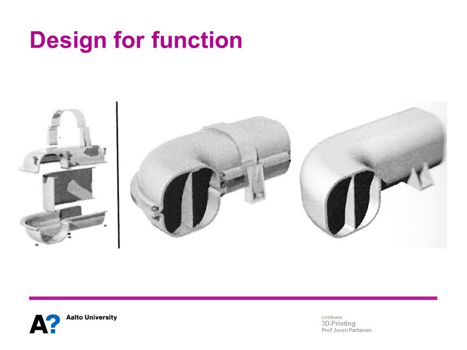 Design for function