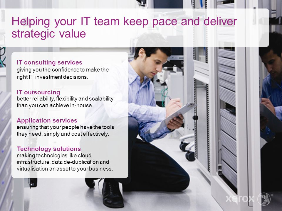 Helping your IT team keep pace and deliver strategic value