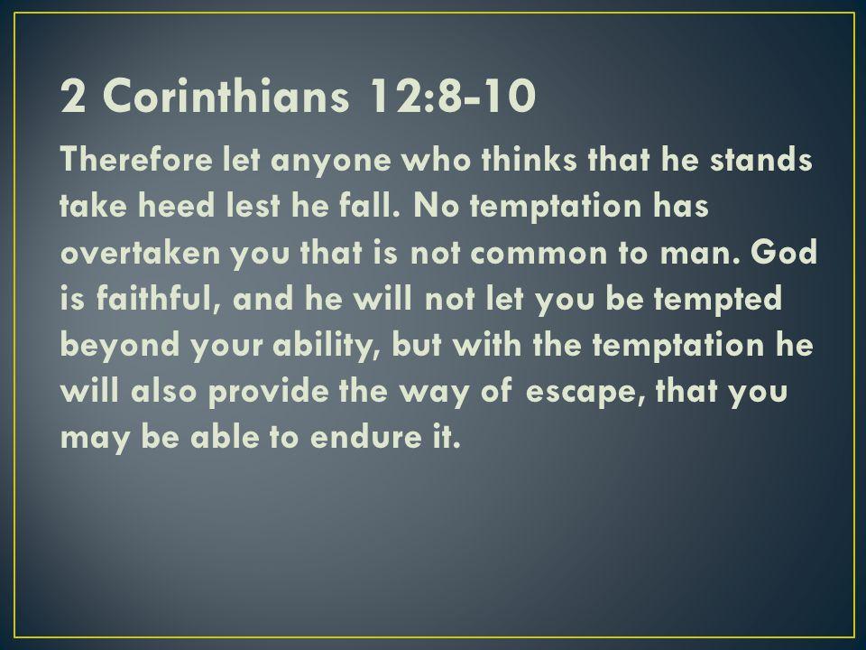 2 Corinthians 12:8-10