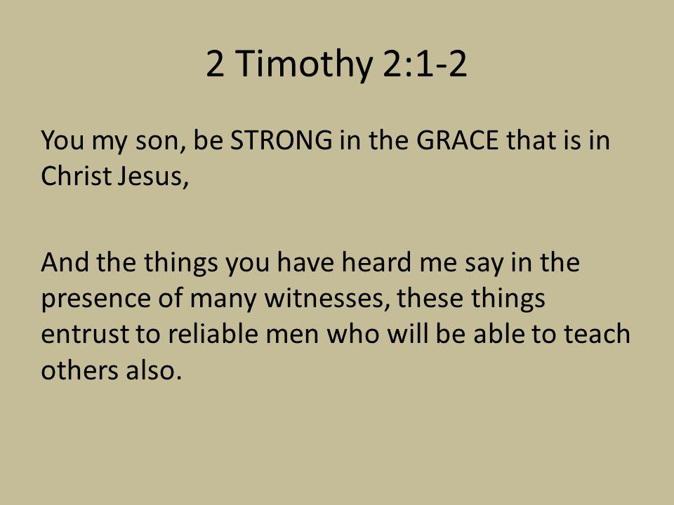 2 Timothy 2:1-2