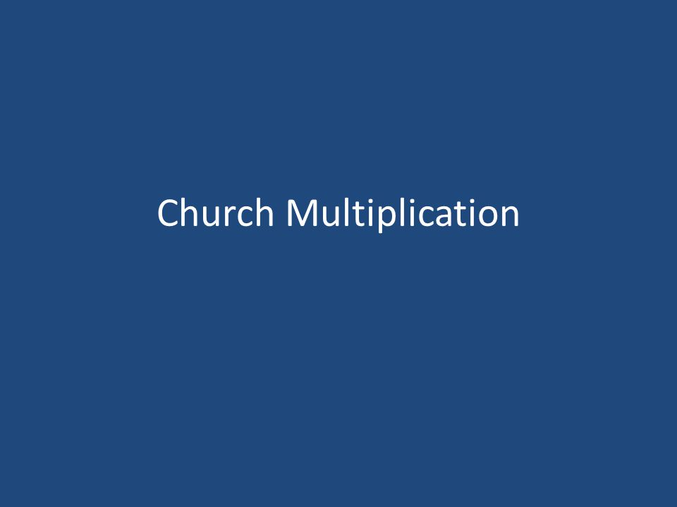 Church Multiplication