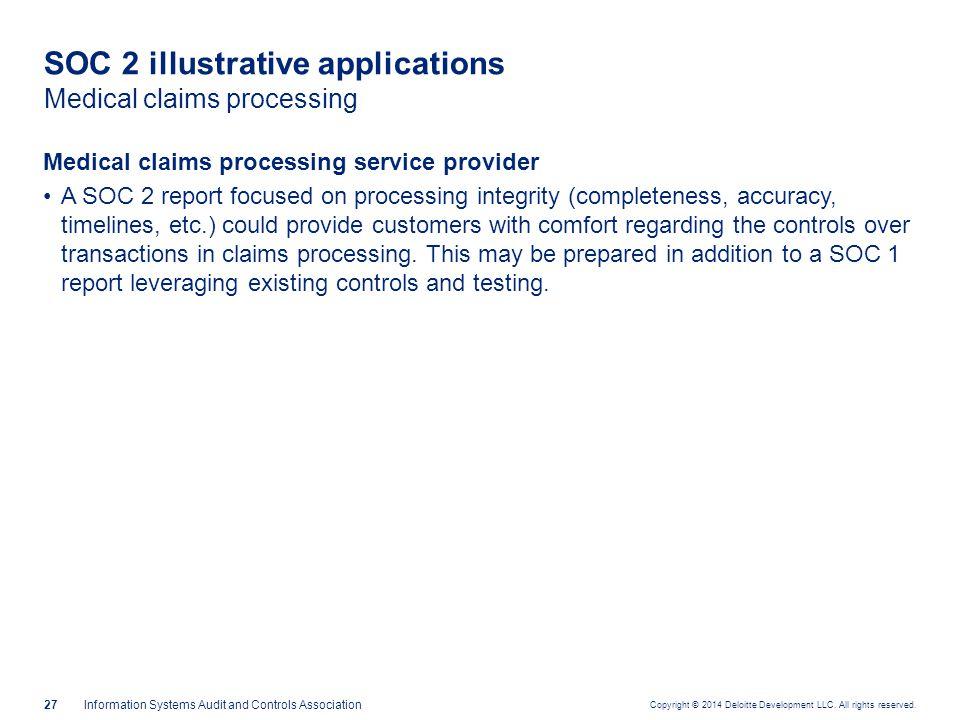 SOC 2 illustrative applications