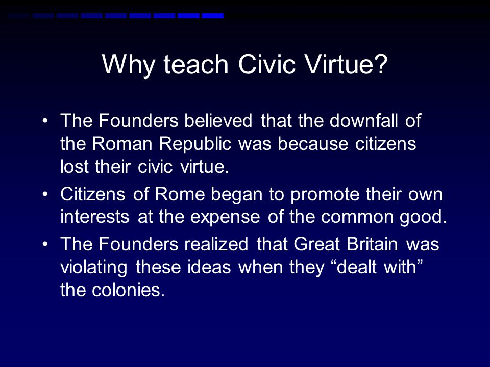 How did the Founders adapt the idea of republican government
