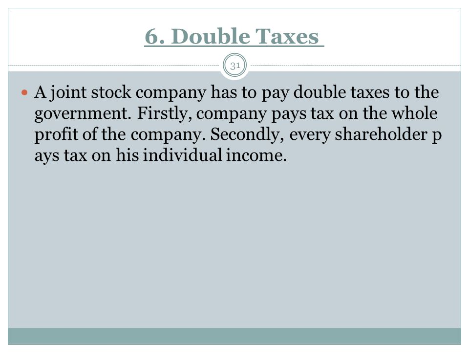 Double taxed on stock options