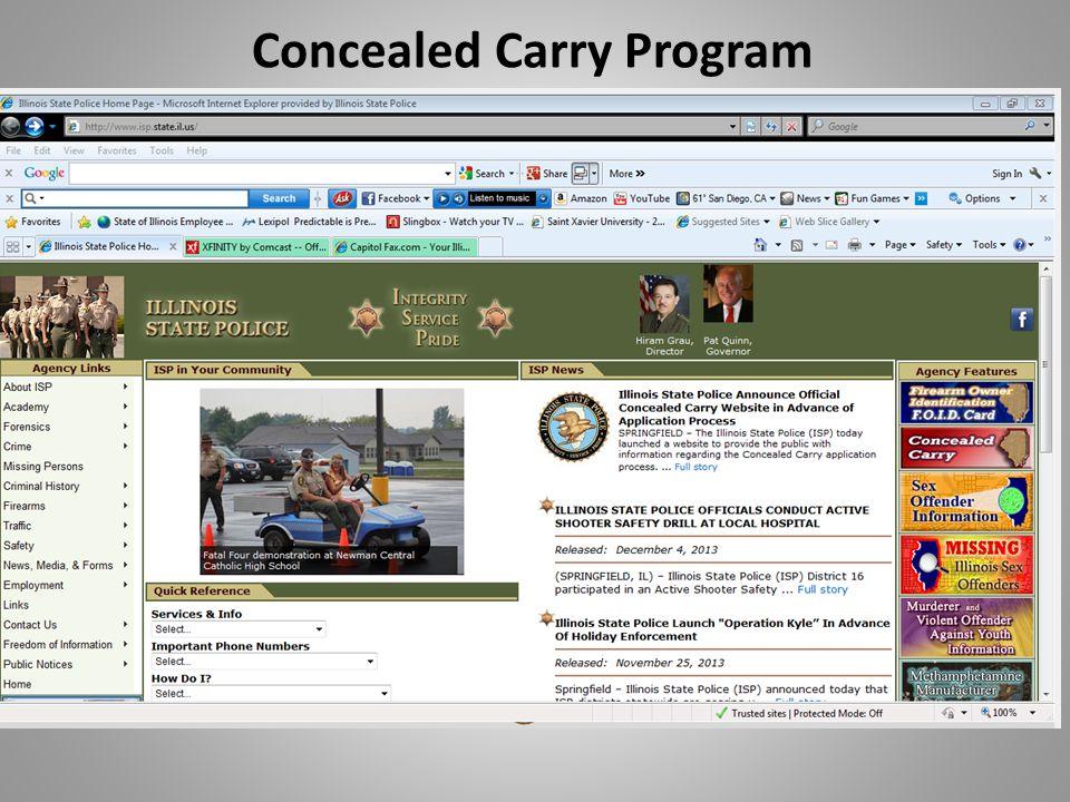 Concealed Carry Program