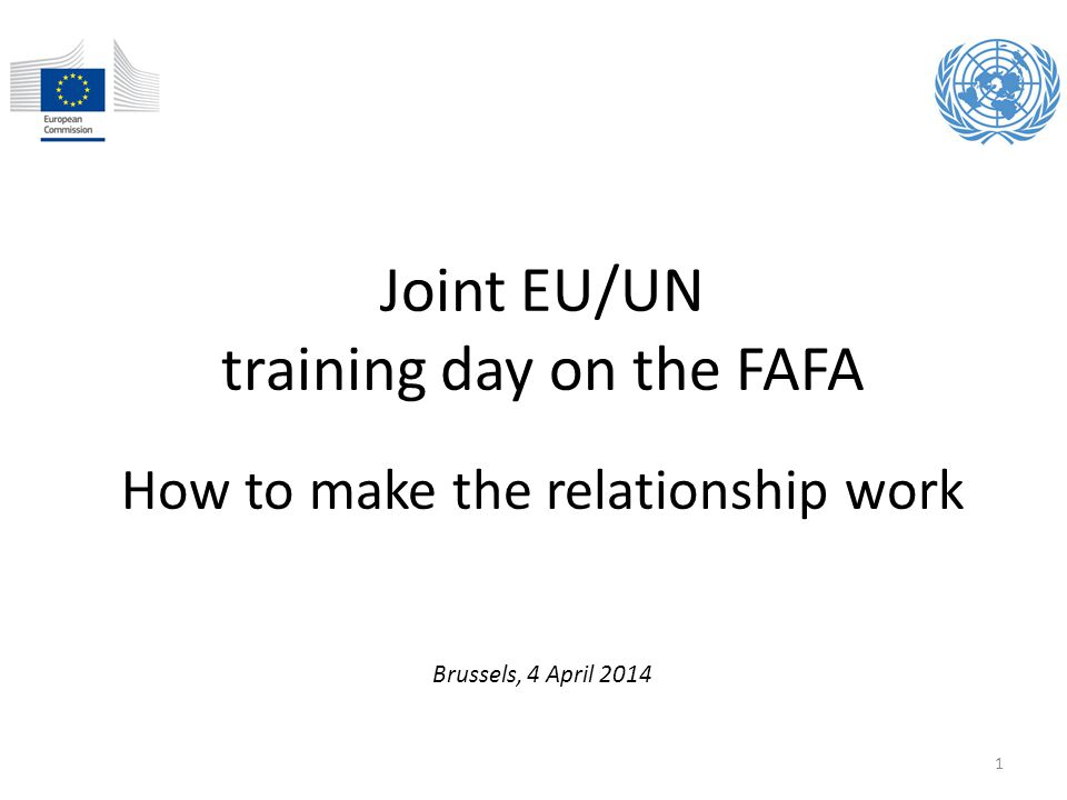 training day on the FAFA