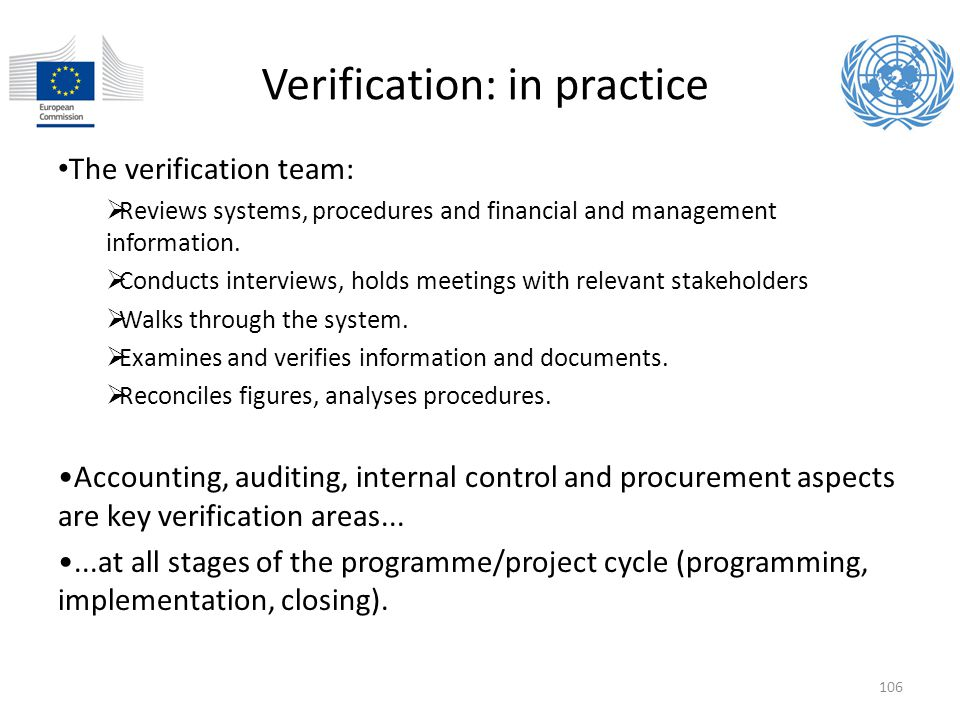 Verification: in practice