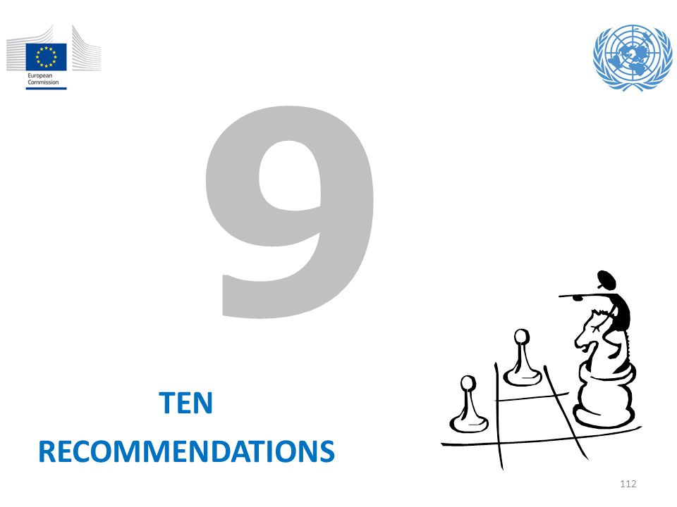 9 TEN RECOMMENDATIONS