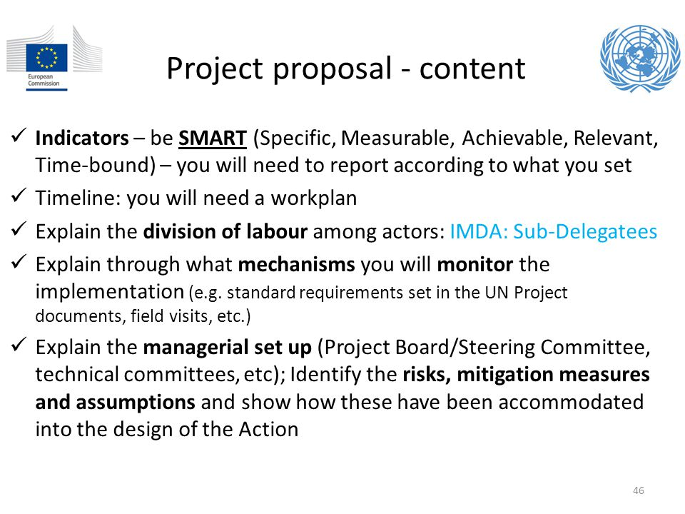 Project proposal - content
