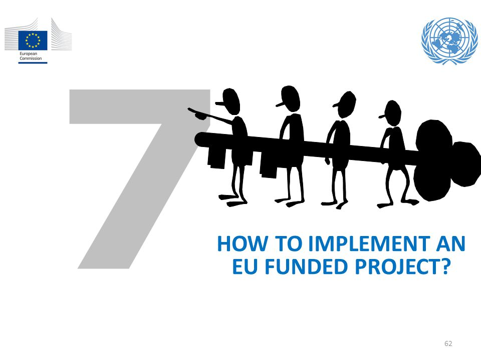 HOW TO IMPLEMENT AN EU FUNDED PROJECT