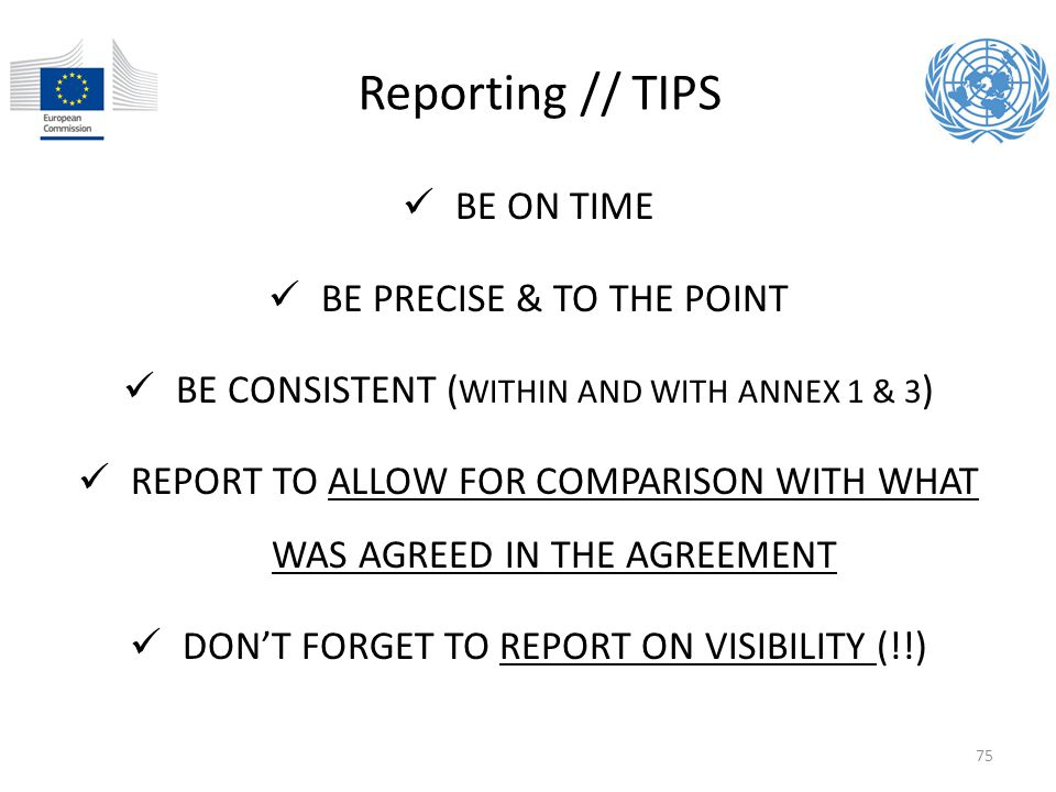 Reporting // TIPS BE ON TIME BE PRECISE & TO THE POINT