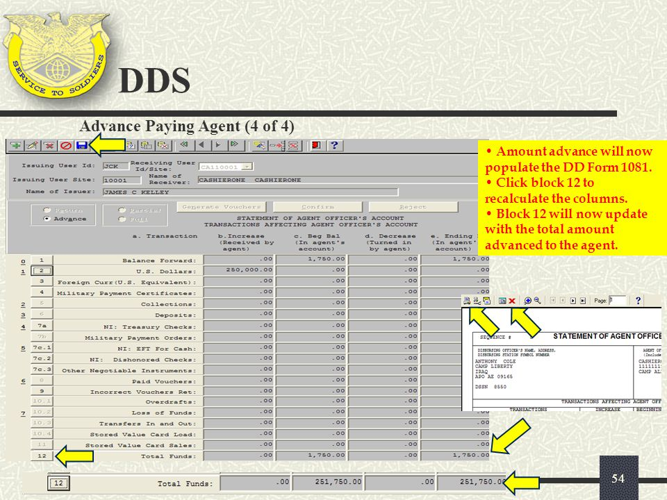 DDS Advance Paying Agent (4 of 4)