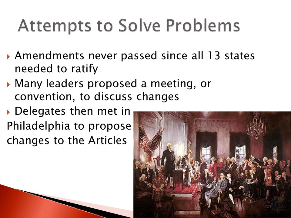 Attempts to Solve Problems