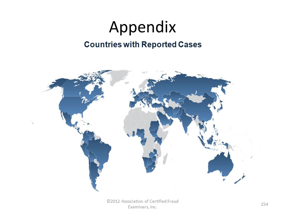 Countries with Reported Cases