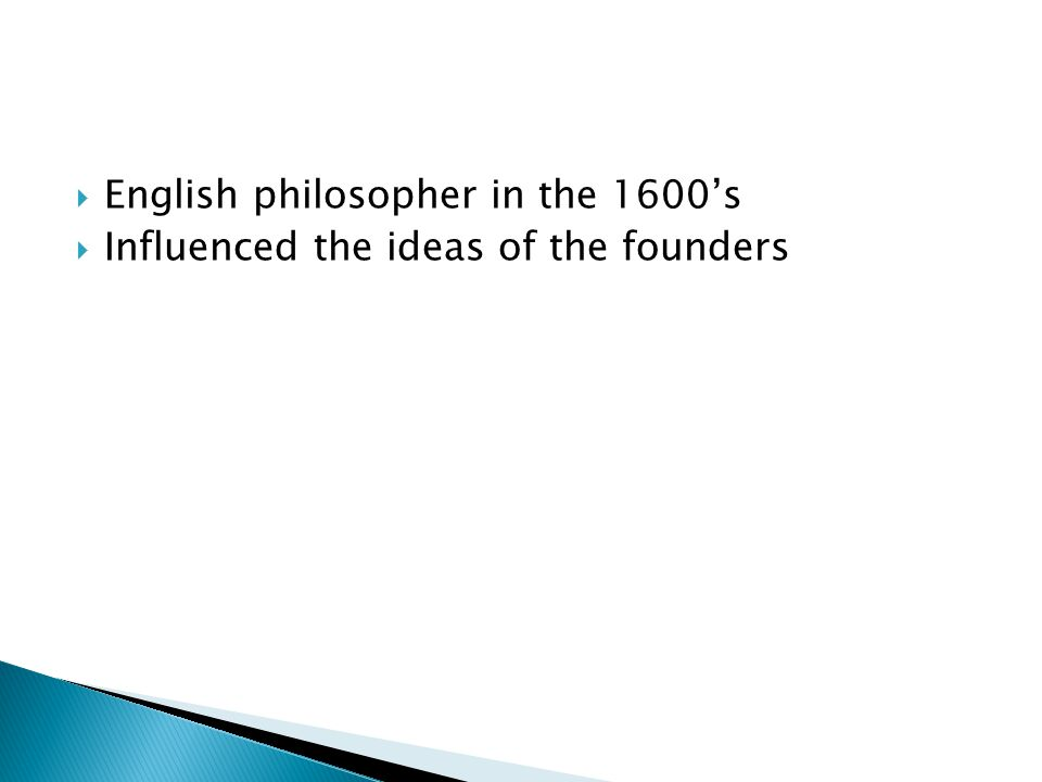 English philosopher in the 1600's