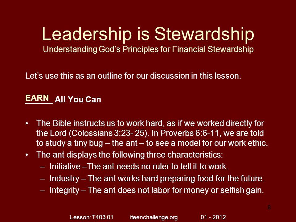Lesson: T403.01 iteenchallenge.org 01 - 2012