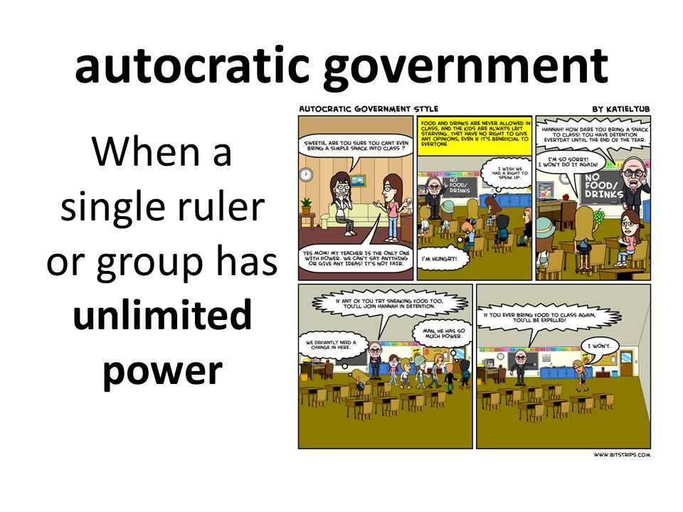 autocratic government