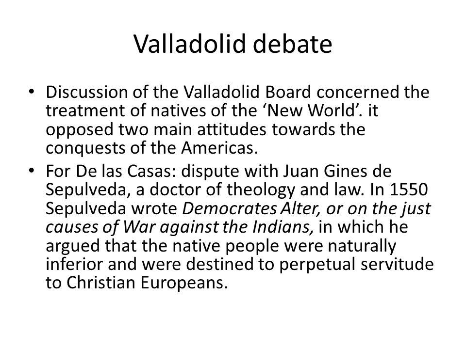 Valladolid debate