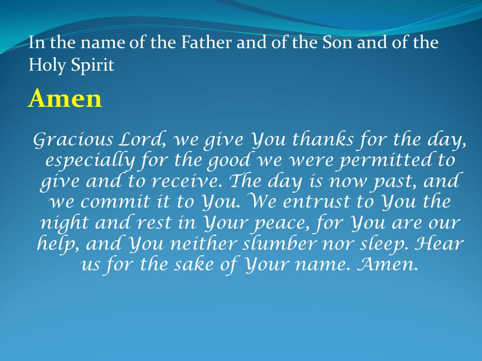 names of the holy spirit pdf