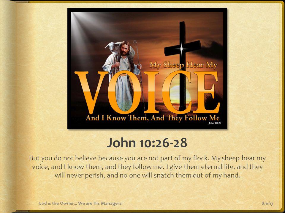 John 10:26-28