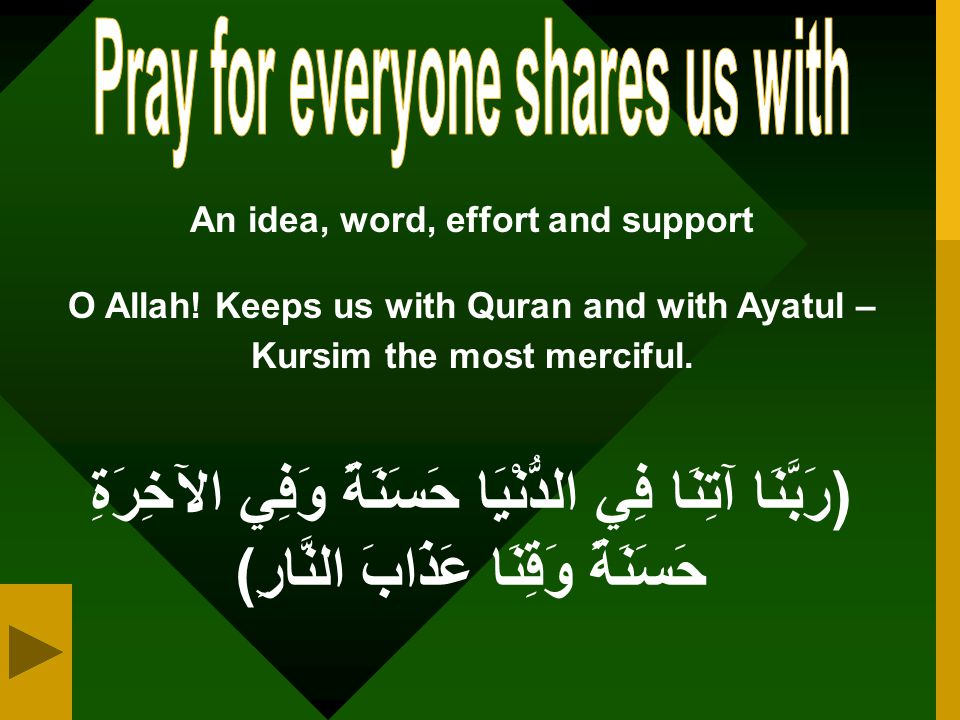 Pray for everyone shares us with An idea, word, effort and support