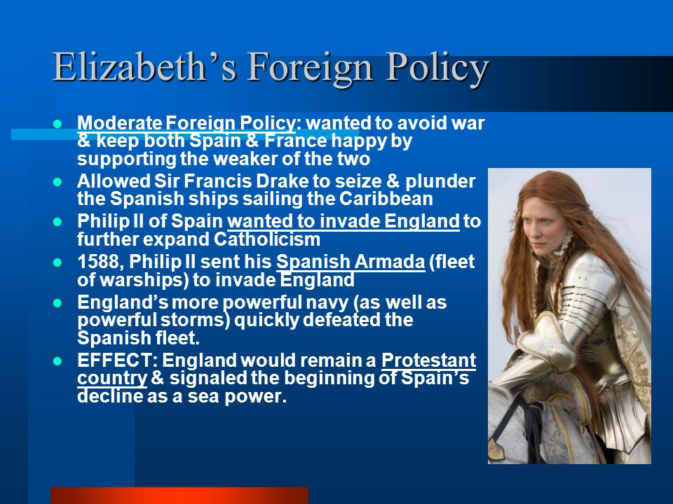 Elizabeth's Foreign Policy