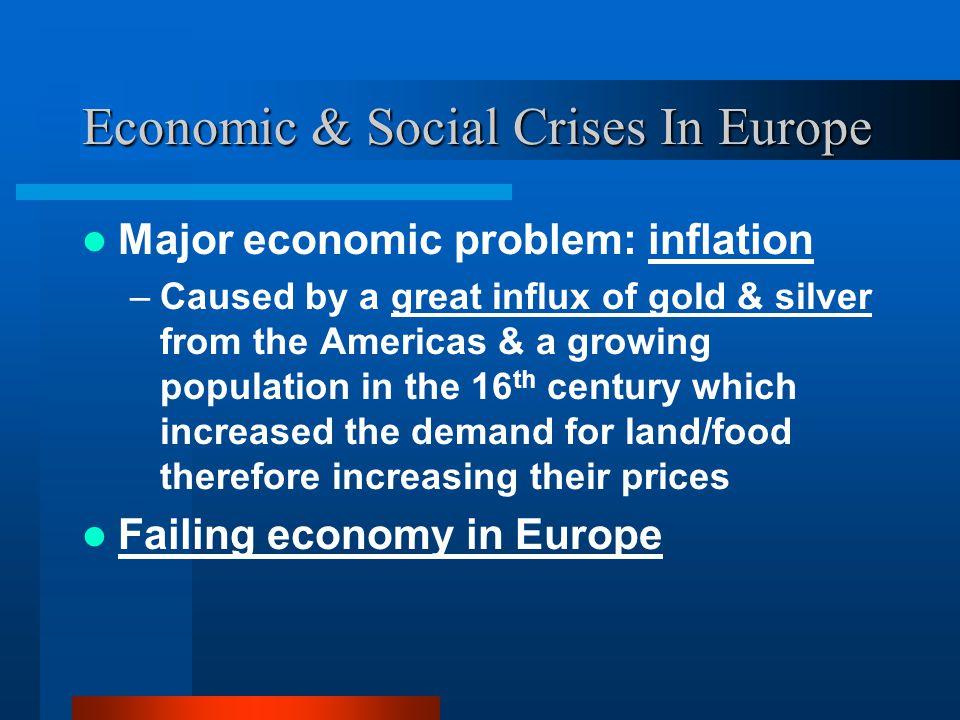 Economic & Social Crises In Europe