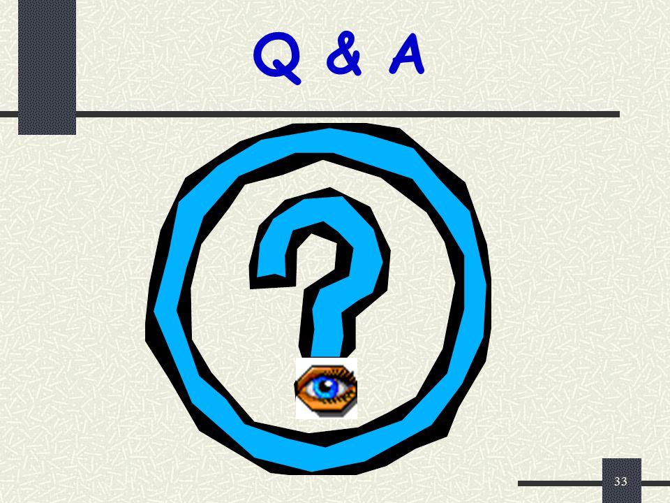Q & A 33