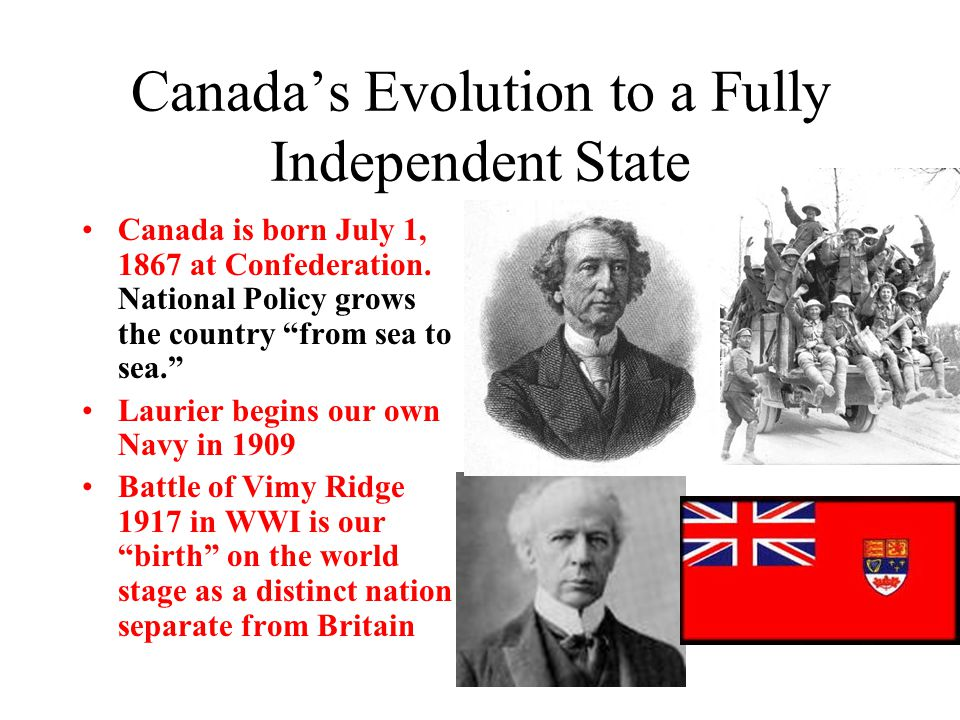 Canada's Evolution to a Fully Independent State