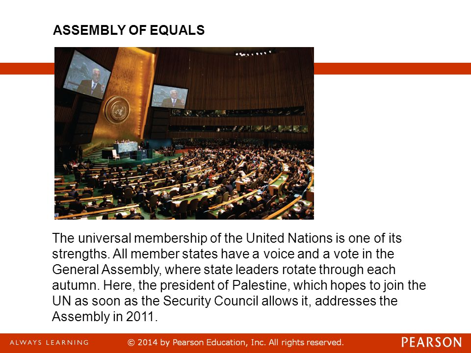 ASSEMBLY OF EQUALS