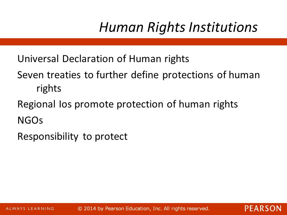 Human Rights Institutions