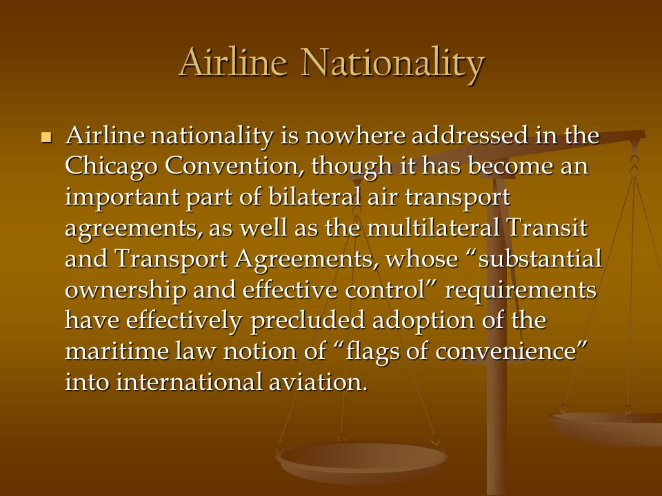 Airline Nationality