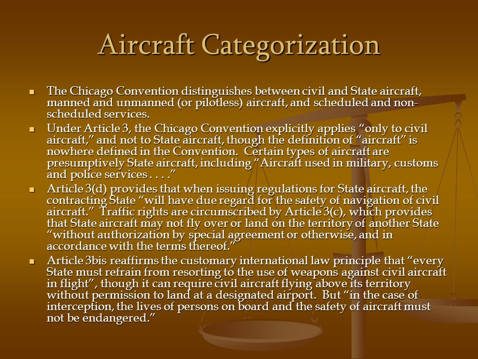 Aircraft Categorization
