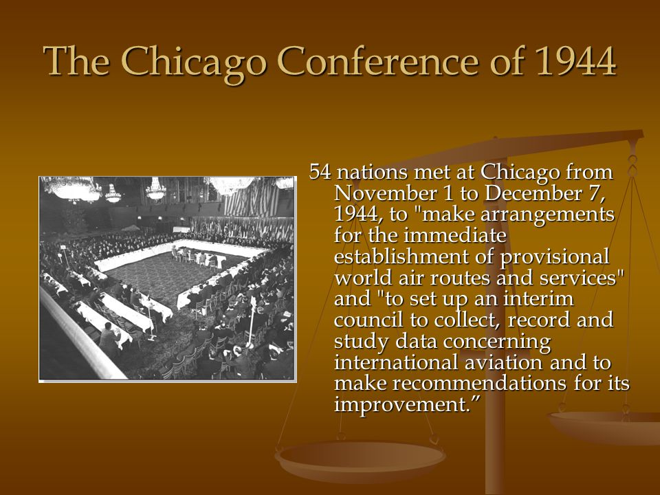 The Chicago Conference of 1944