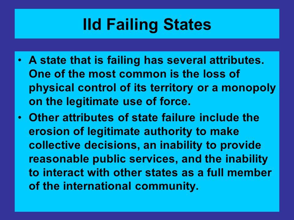 IId Failing States