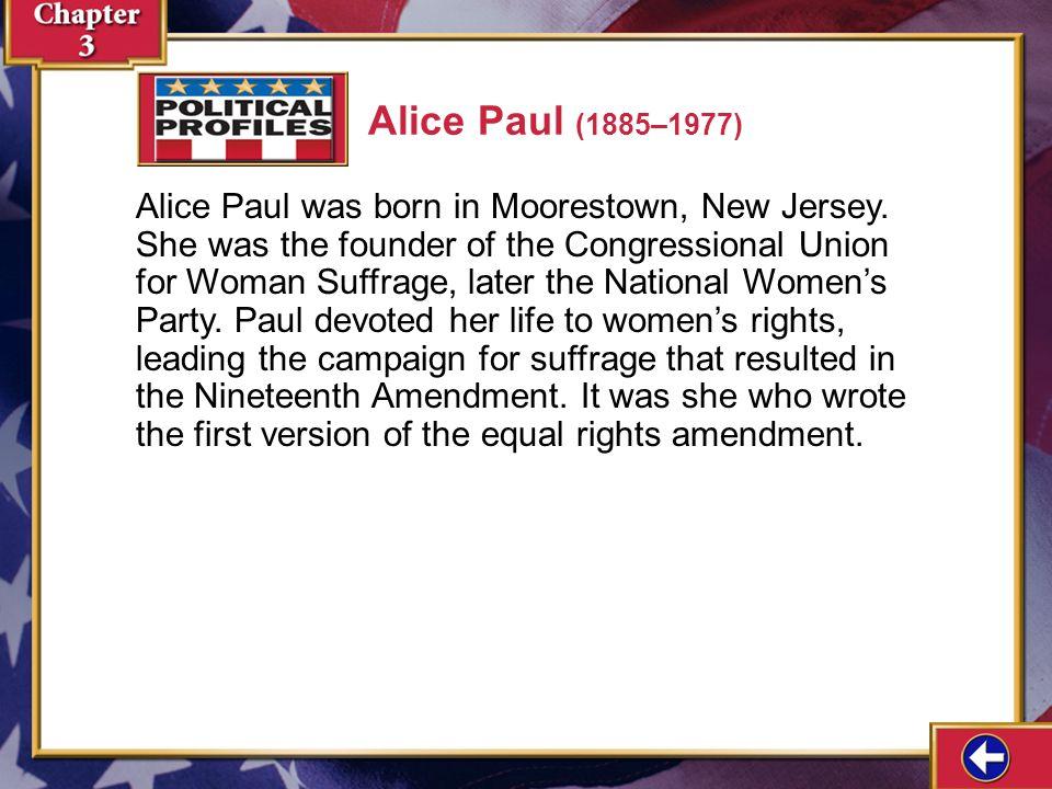 Alice Paul (1885–1977)