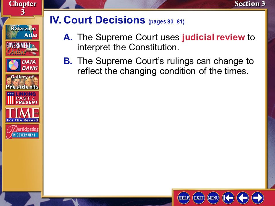 IV. Court Decisions (pages 80–81)