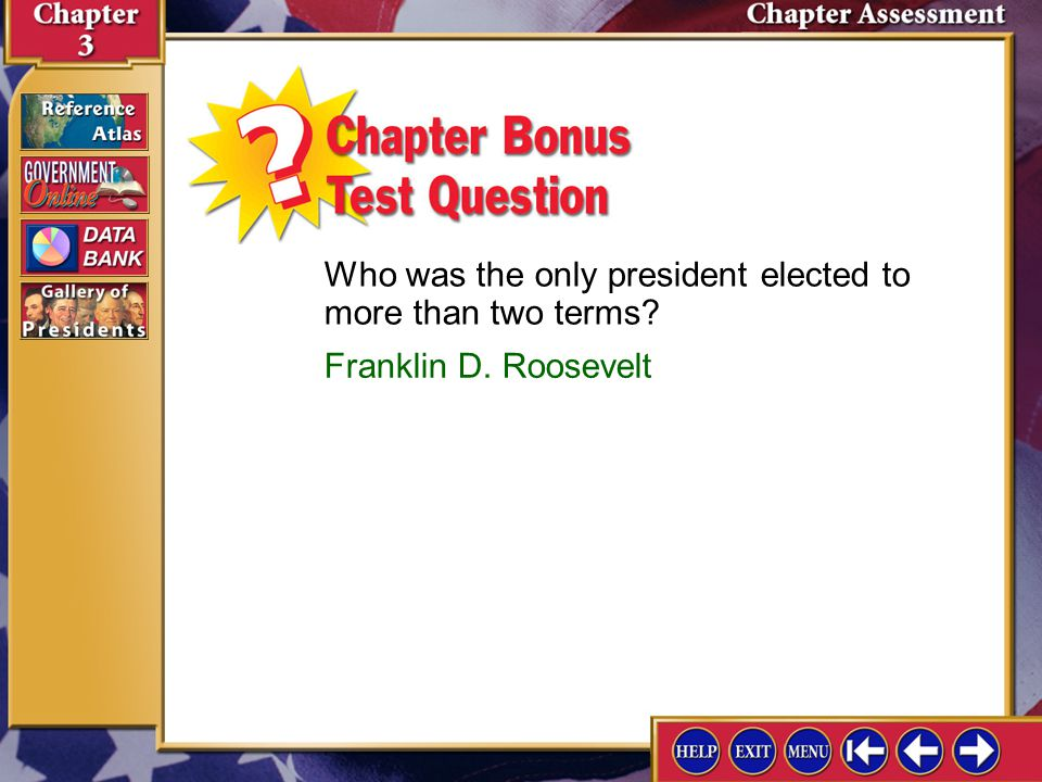 Who was the only president elected to more than two terms