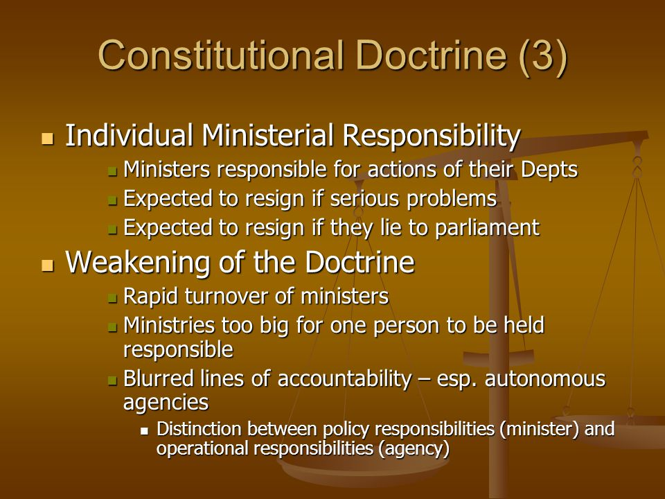 Constitutional Doctrine (3)