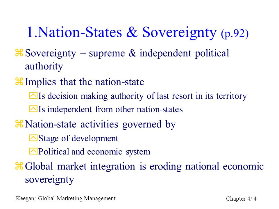 1.Nation-States & Sovereignty (p.92)
