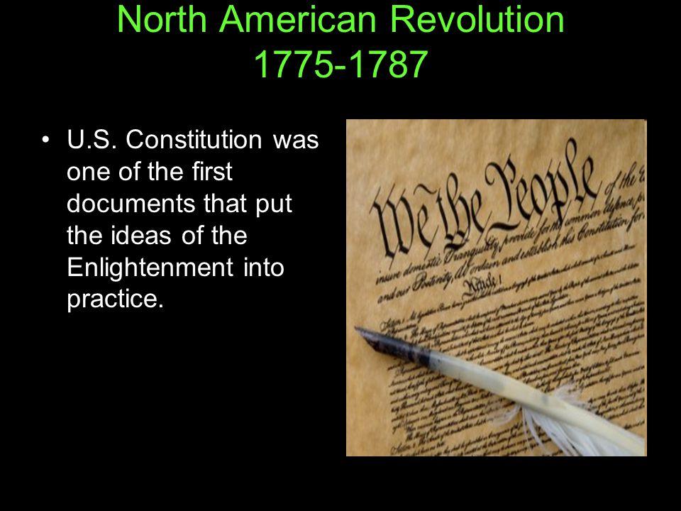 North American Revolution 1775-1787