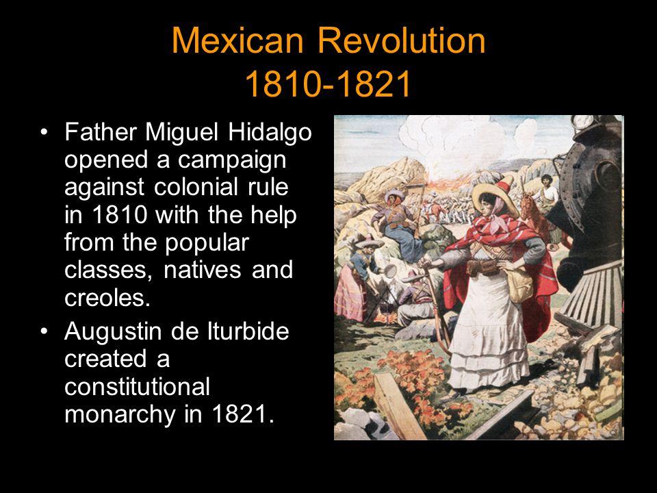Mexican Revolution 1810-1821