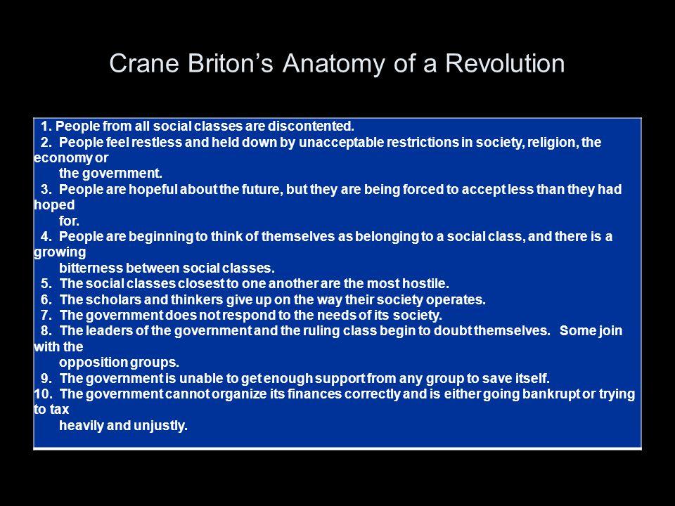 Crane Briton's Anatomy of a Revolution