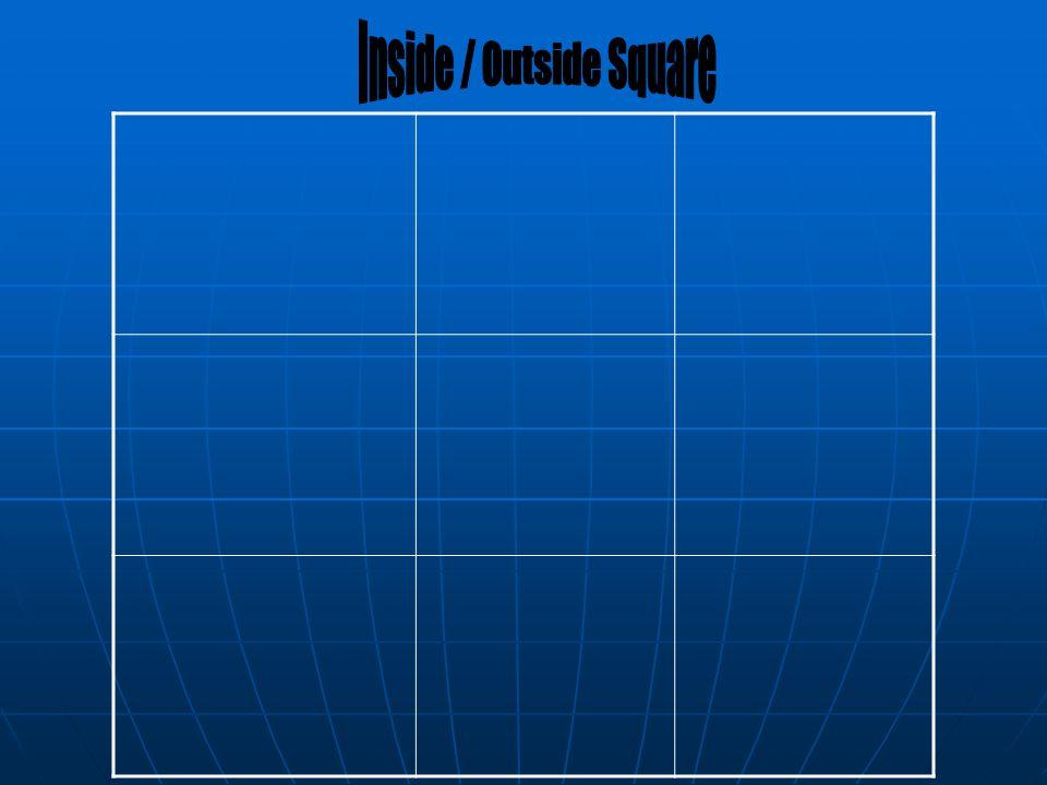 Inside / Outside Square