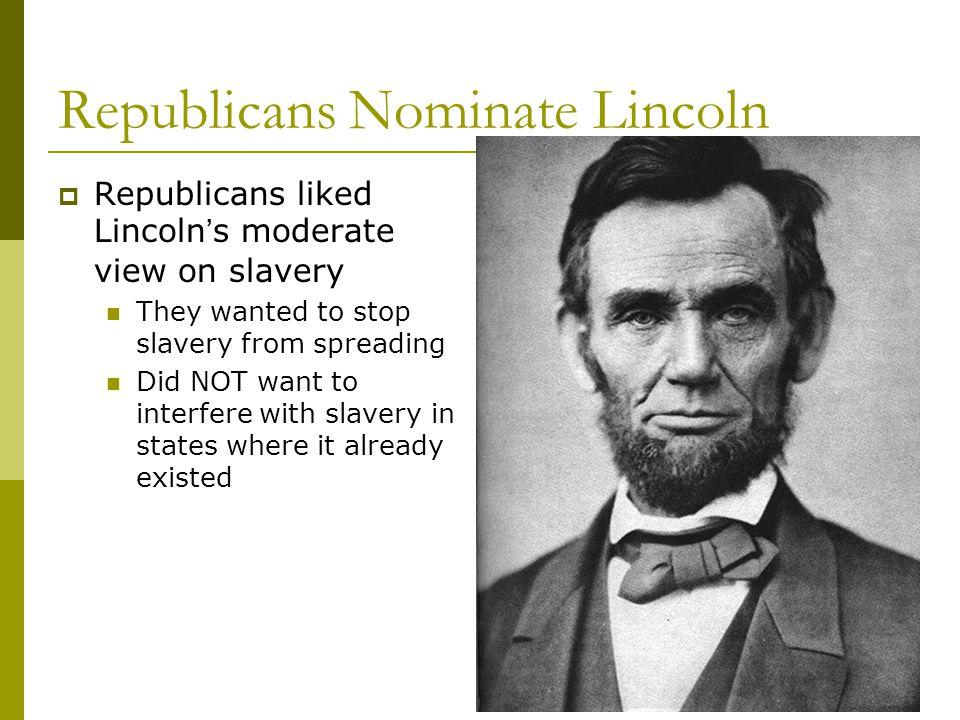 Republicans Nominate Lincoln