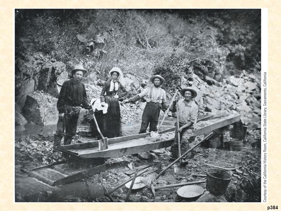 Placer Miners in California