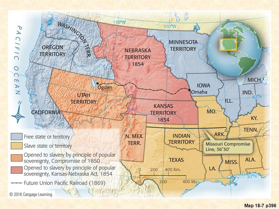 Map 18.7 Kansas and Nebraska,